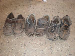 Shoes - more holes than shoe