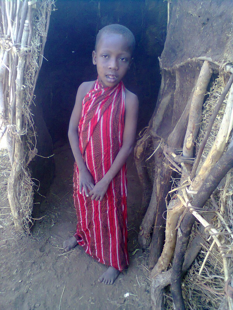 One of the hopeful intake. He is 7 and never been to school.