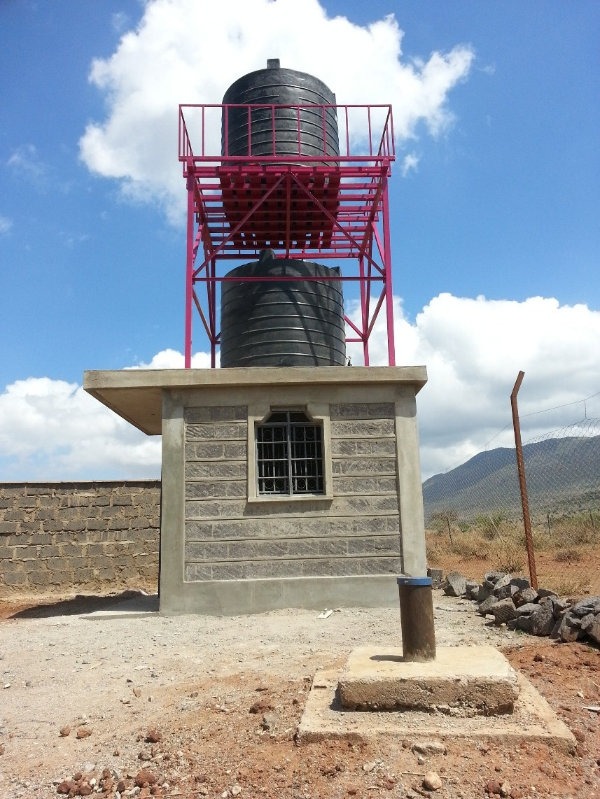 Borehole and solar powered pump | Osiligi Charity Projects